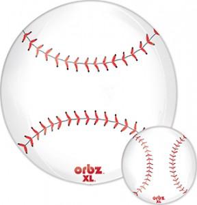 Orbz Baseball balloon by Anagram.