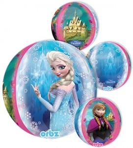 Frozen Orbz balloon by Anagram.
