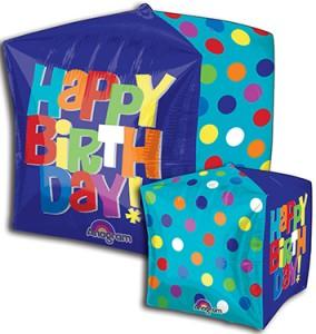 Cubez Bright Birthdayballoon by Anagram.