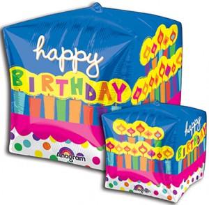 Cubez Birthday Cakeballoon by Anagram.