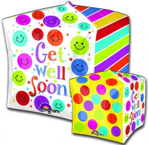 Cubez Get Well Soonballoon by Anagram.