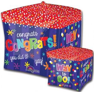 Cubez Way To Go Congratsballoon by Anagram.