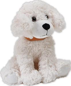 9 in Cream Scruffy Dog