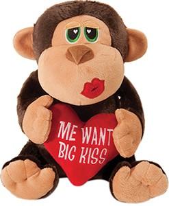 7 in Me Want Big Kiss Monkey.