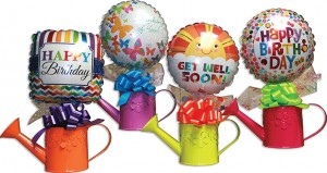 Assorted Watering Cans Candy Gift