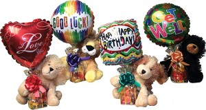 Assorted 7 in Plush Candy Gift