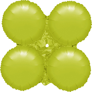 MagicArch Foil Balloon Lime Green Small