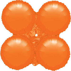 MagicArch Foil Balloon Orange Small