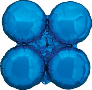 MagicArch Foil Balloon Blue Large