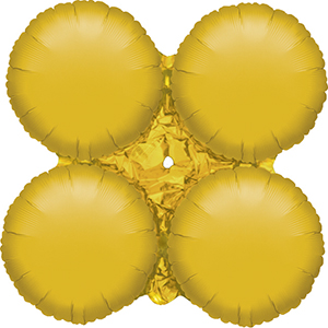 MagicArch Foil Balloon Gold Small