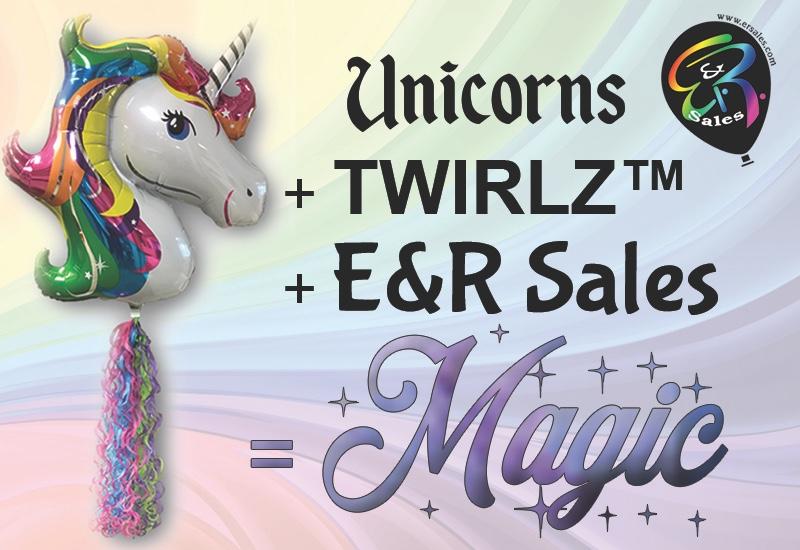 unicorn with twirlz