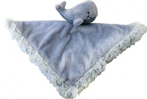 """12"""" Baby Blue Whale Snuggler"""