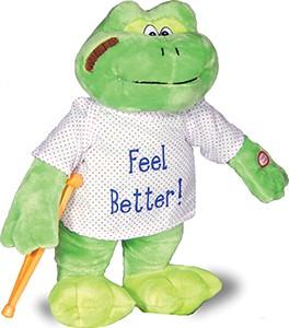 """13"""" Musical Feel Better Frog"""