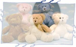 "13"" Blue Bear"