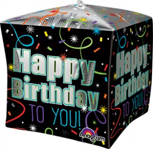 Cubez Brilliant Birthdayballoon by Anagram.