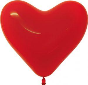 "11"" Solid Latex Hearts"