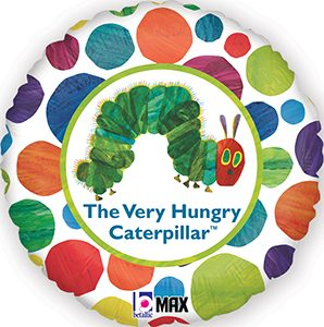The Very Hungry Caterpillar Standard size helium balloon by Anagram