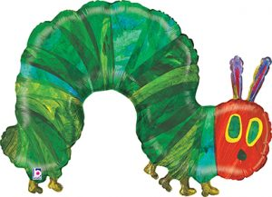 The Very Hungry Caterpillar 43 inches helium shape by Anagram