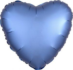 Satin Luxe™ Azure (heart)