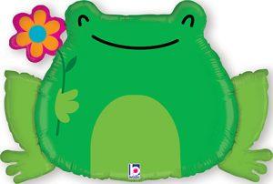 Garden Frog balloon by Betallic.