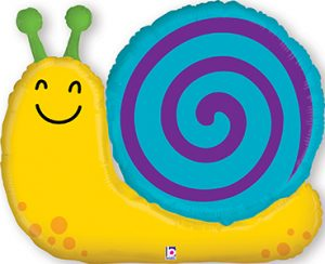 Garden Snail balloon by Betallic.