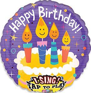 Singing Birthday Candles Singing Balloon by Anagram.